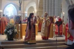 Bei der Liturgie
